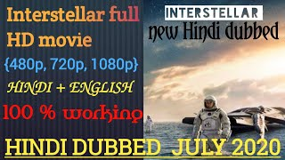 how to download interstellar Hollywood movie in hindi, how to download interstellar full hd movie