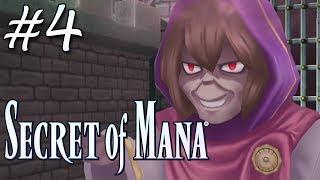 Secret of Mana Remake (PS4) - Parte 4 - Witch's Castle