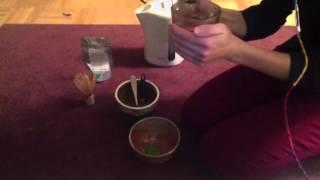 Matcha Tea Ceremony (no talking, just sounds)