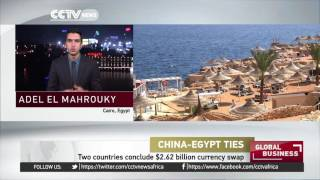 China and Egypt central banks sign 18 billion yuan, three-year currency swap deal