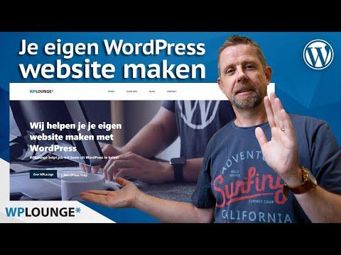 Gratis WordPress website maken met Gutenberg! 2021 | Nu zonder Elementor! (WordPress 5.8)