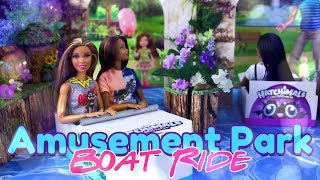 DIY - How to Make: Amusement Park Boat Ride | Tunnel of Love | Boats | Robot Animals