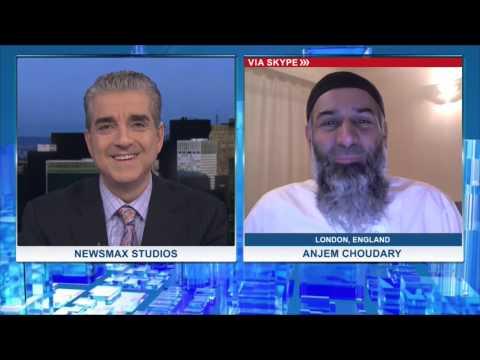 Malzberg | Anjem Choudary asks Newsmax host Steve Malzberg if he is Jewish