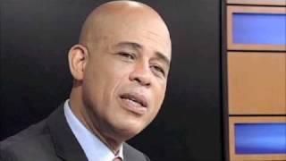 Interview de Michel Martelly, candidat à la présidence d