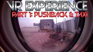 VR HONG KONG AIRLINES BUSINESS CLASS PUSHBACK TAXI
