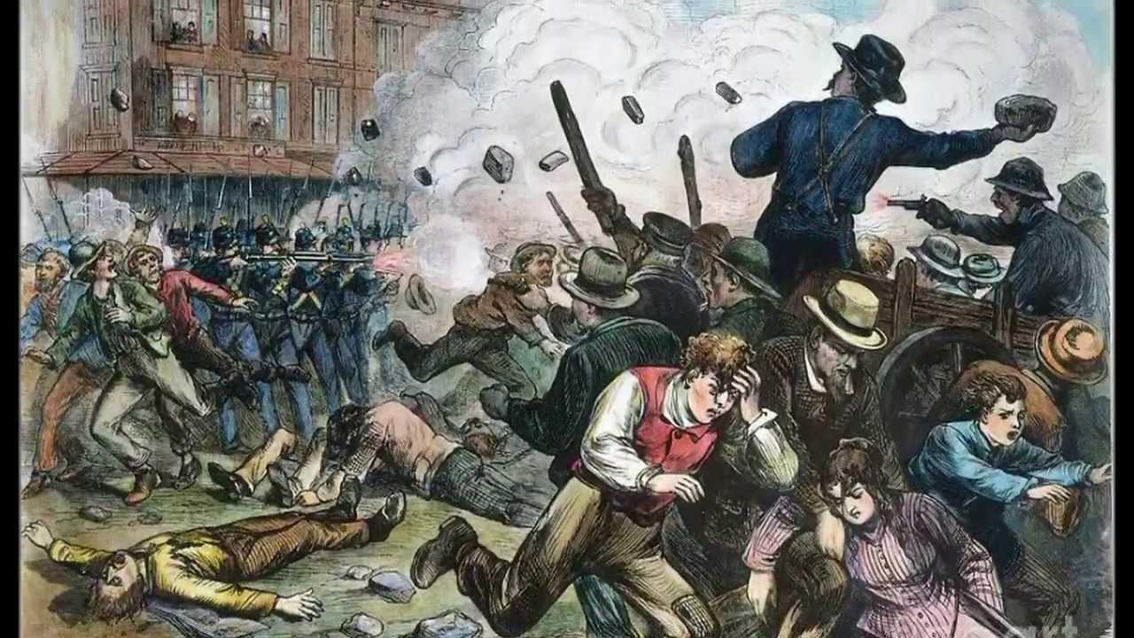 Great Railroad Strike Of 1877 Nhd Youtube