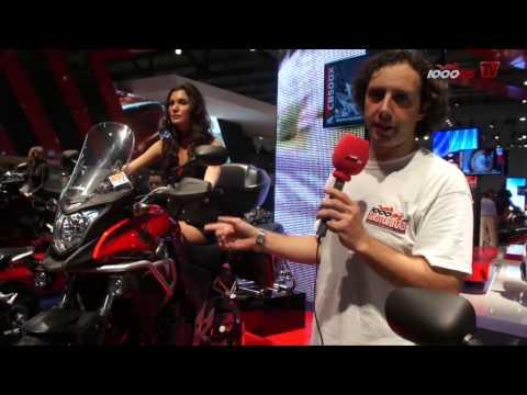 Premiere Honda CB500X News 2013 EICMA 2012