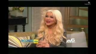 Christina Aguilera - Access Hollywood Live interview 2012 (2/2)