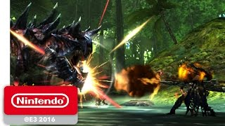Monster Hunter Generations - Demonstration - Nintendo E3 2016