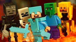 Кока Все Серии Мультфильм Лего Майнкрафт Мультики Minecraft для Детей на русском