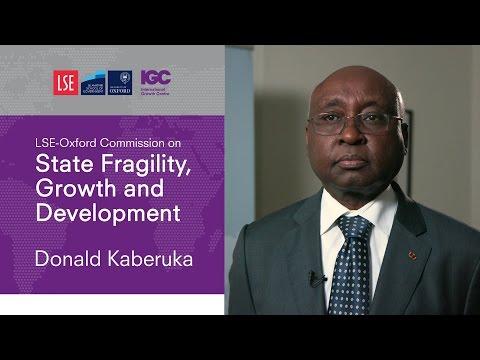 Donald Kaberuka: Why addressing fragility matters for development