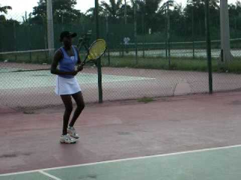 Africa Tennis Aid: The Gals -  Anita