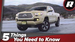 2018 Toyota Tacoma TRD Sport: Five things you need to know