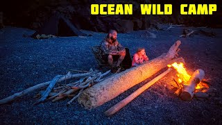 Wild camping (campfire cooking)