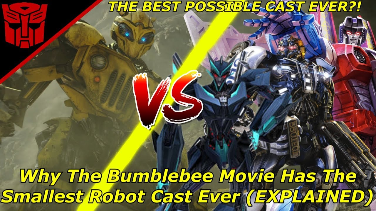 The Bumblebee Movie Full Robot Cast So Farexplained