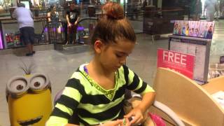 Getting my cartlige pierced at claire's