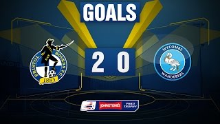 GOALS: Bristol Rovers 2-0 Wycombe Wanderers