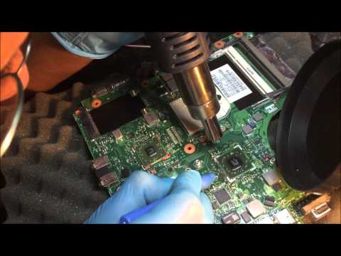 HOW TO REMOVING BGA EPOXY GLUE CORNER UNDERFILL FOR CLEAN LIFT OR REFLOW
