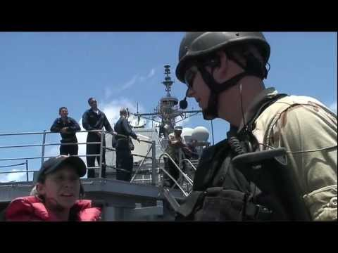 U.S. Navy conducts VBSS (Visit Board Seize and Search) anti-piracy training