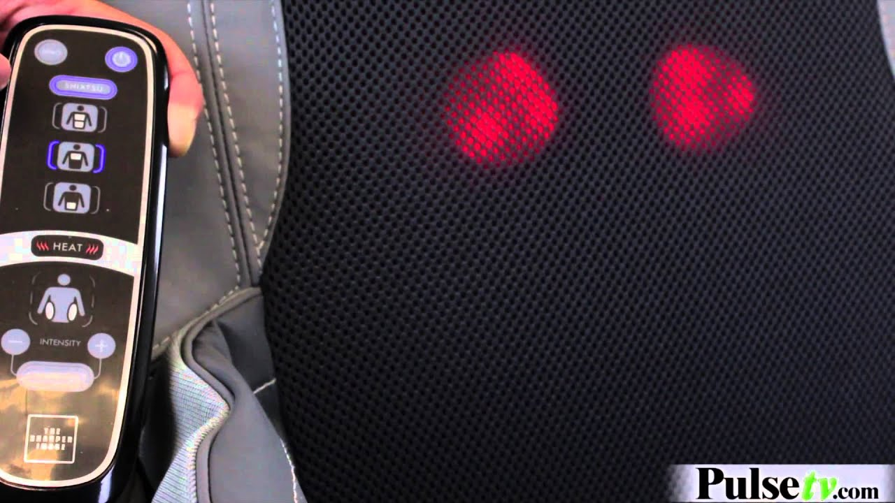 Massage Chair Cushion by The Sharper Image