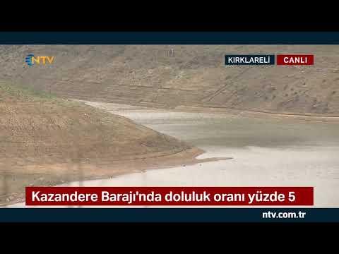 NTV   İstanbul'a su veren iki baraj kurudu