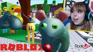 Roblox Eg - I'm A Giant RAT! RadioJH Games