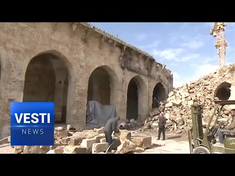 Aleppo Is Already Reviving - Restoration of the Ancient City is in Full Swing