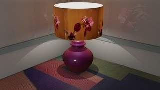 3ds Max Lamp Shade Effect - 5 Easy steps.
