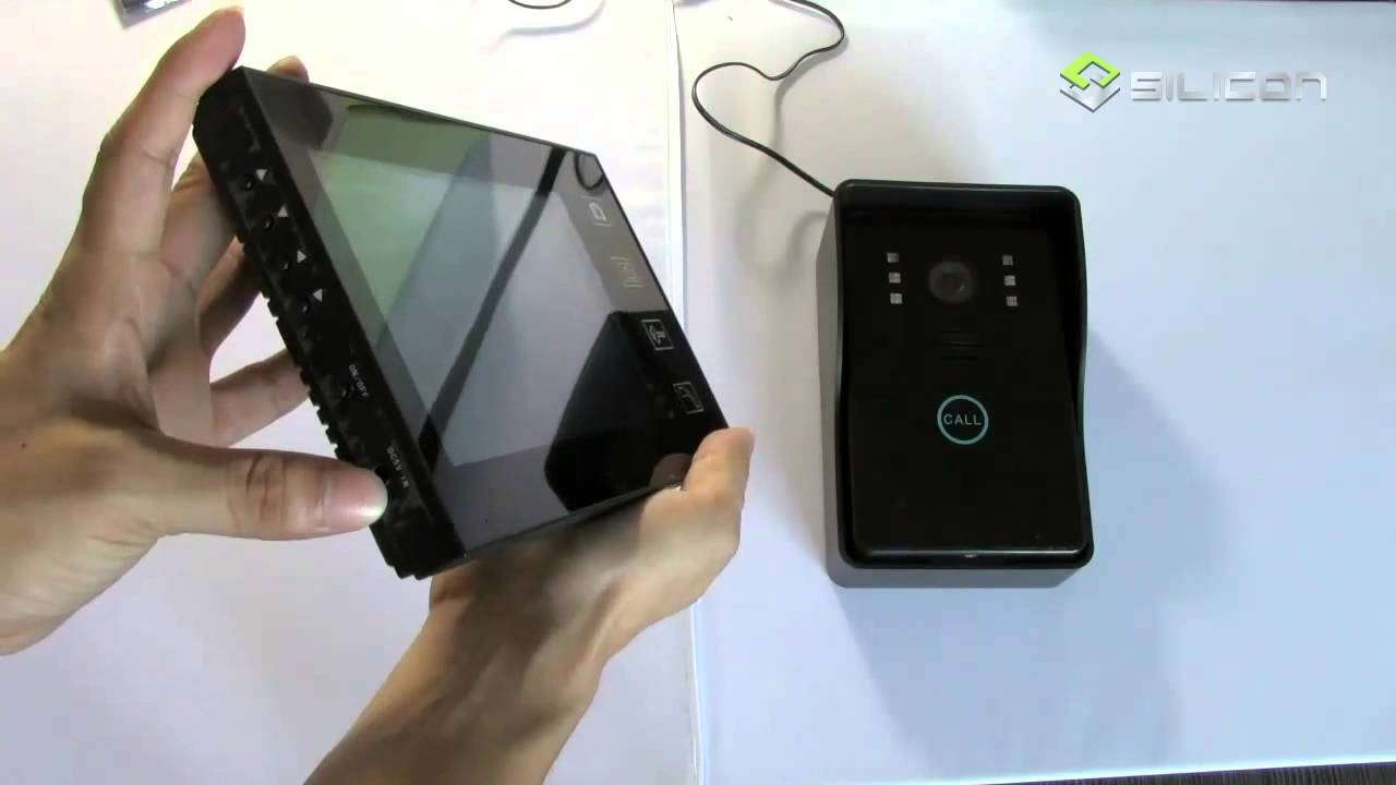 Wireless Video Door Phone Skype Id Anna Circuit Youtube