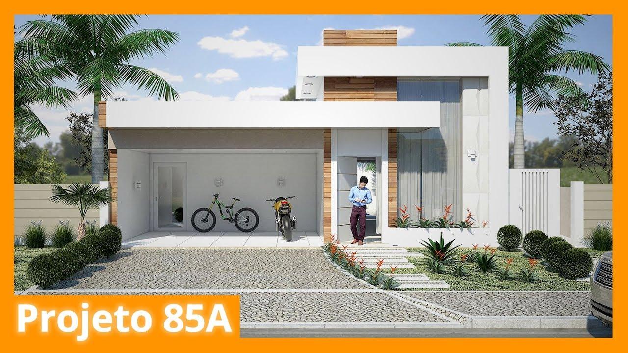 Projetos De Casas Conceito Aberto Projeto Casa Sobrado Terreno