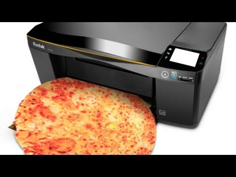 NASA's Latest Grant? $125,000 for 3-D Printed Pizza