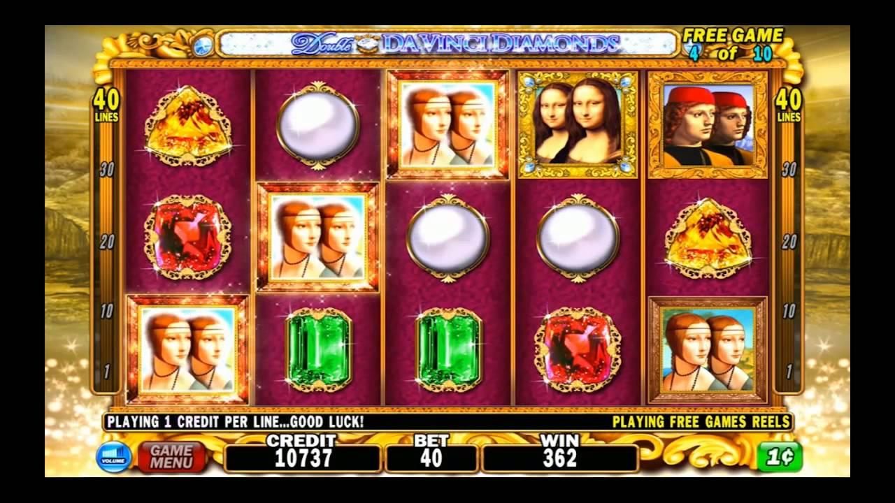 Double Da Vinci Diamonds | High 5 Games - YouTube