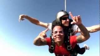 Live, and Love Life! Live A Little! Sergio's SkyDive Palm Jumeirah Dubai Sep 7, 2012.mp4