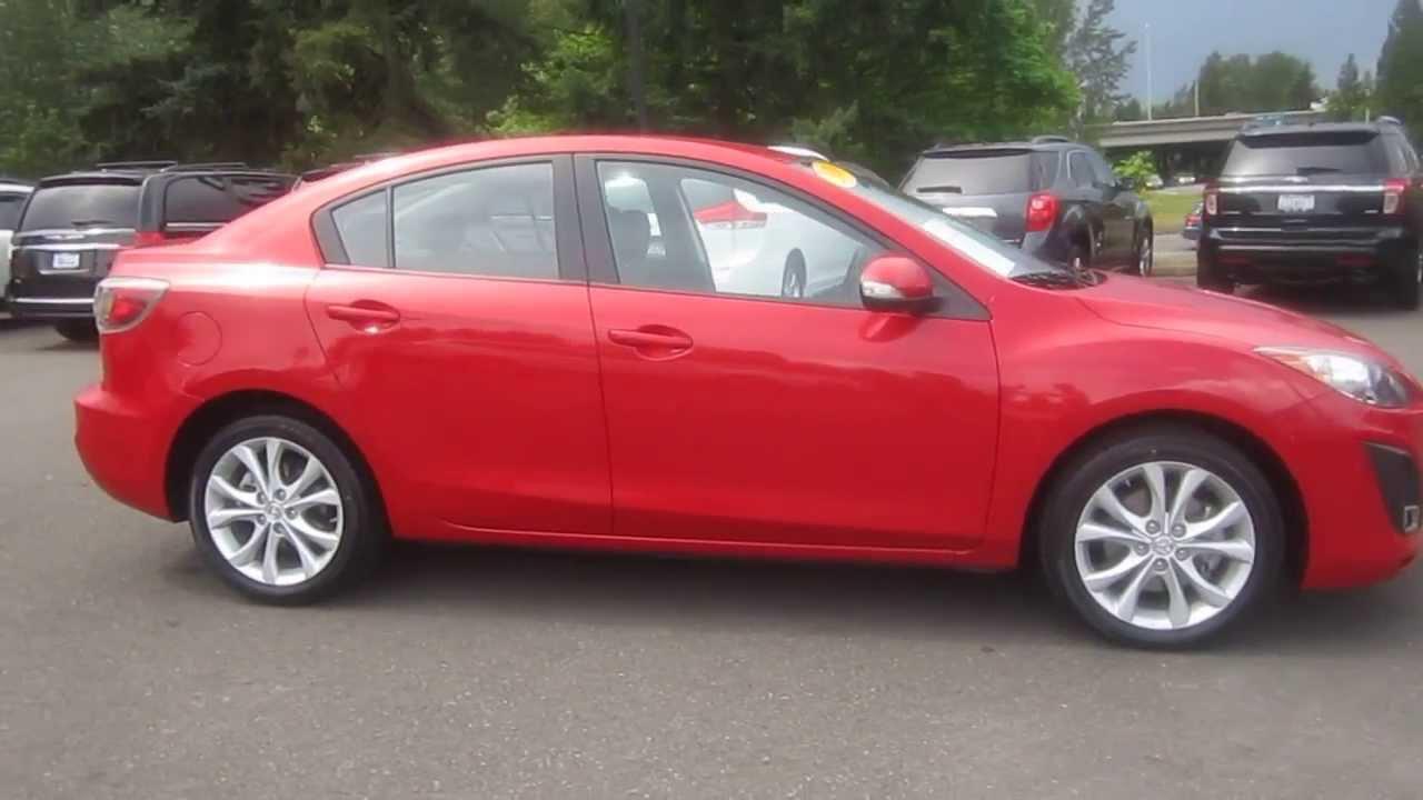 2010 Mazda 3, Velocity Red - STOCK# 606778 - Walk around - YouTube