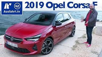 2019 Opel Corsa F 1.2 Turbo 8AT GS Line - Kaufberatung, Test deutsch, Review, Fahrbericht Ausfahrttv