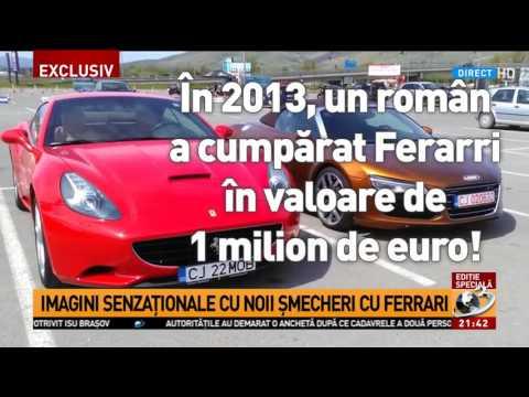 Sute de mașini de lux au fost înregistrate în România. Cine sunt proprietarii lor