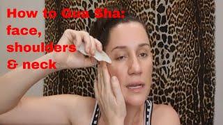 how to do facial gua sha a quick tutorial 2021