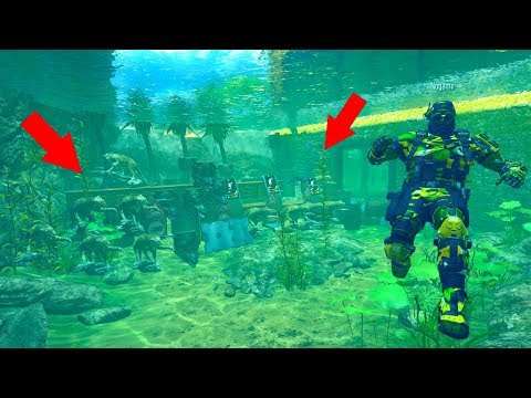 "THEY DIDN'T THINK I WOULD EVER FIND THEM HIDING UNDER WATER!?!?!? ""PROP HUNT"" ON BLACK OPS 3"
