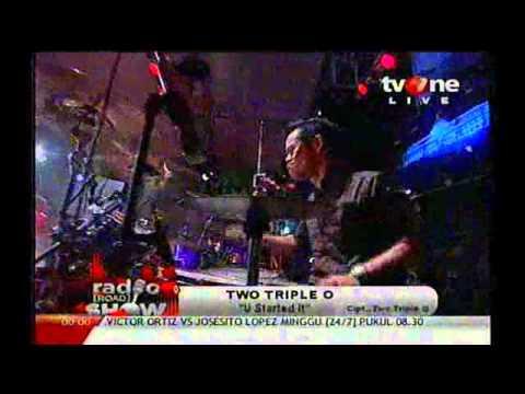 Two Triple O - U Started It & Aku Cinta Kamu ( Radio Show TV One ) 23.06.12
