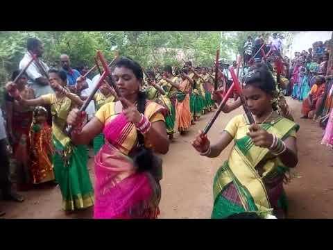 Kanagarthi kolatam dance master  pendem kalyani