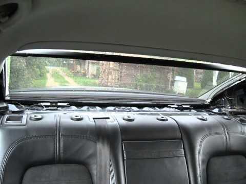 Rear Window Shade Passat B6 Youtube