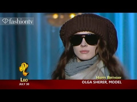 Happy Birthday Olga Sherer! July 30 | FashionTV