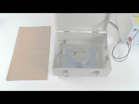 Measure Surface Resistance of Plate Samples with the Weight Electrode SME-8320
