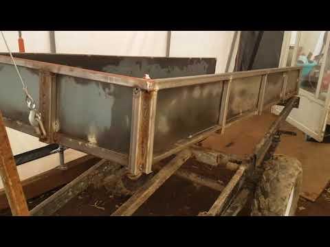 Homemade ATV Dump Trailer build Part 1