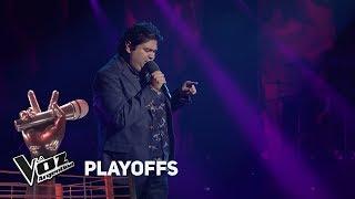 """Playoffs #TeamAxel: Pedro canta """"Qué ganas de no verte..."""" ..."""