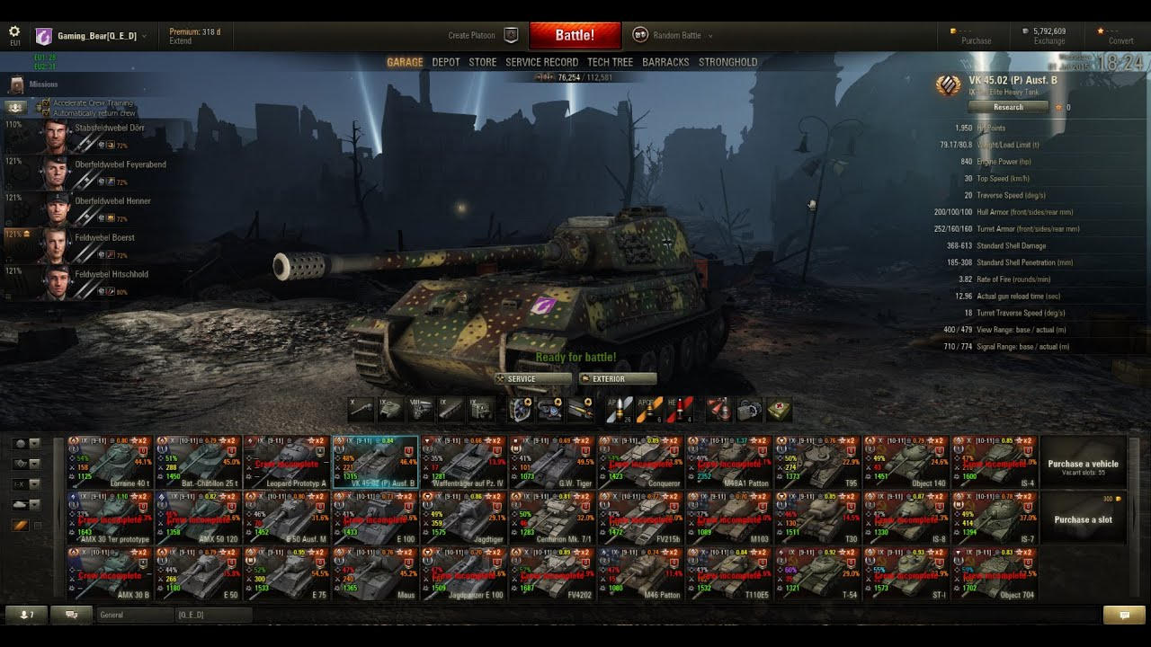 World Of Tanks: VK4502 (p) Aus...