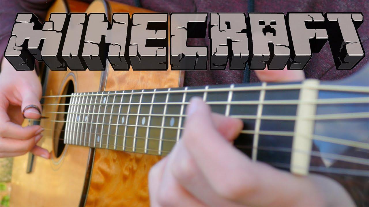 Minecraft Theme on Guitar (Wet Hands)