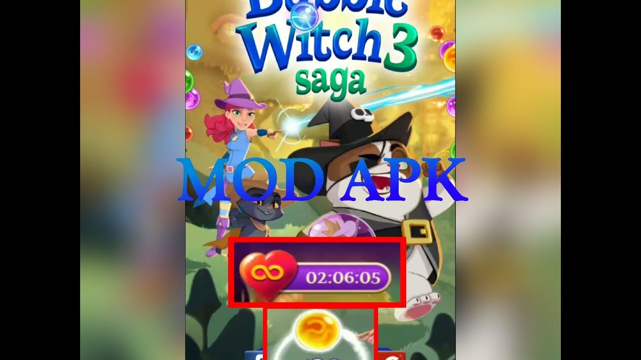 bubble witch saga 3 mod