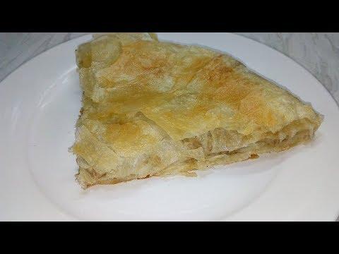 DOMAĆI BUREK SA MESOM OD GOTOVIH KORA PIE WITH MEAT