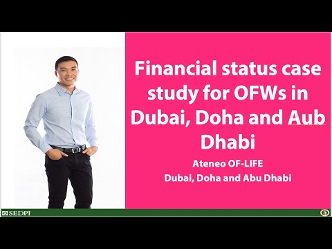 Vince Rapisura 417: Financial status case study for OFWs in Dubai, Doha and Aub Dhabi